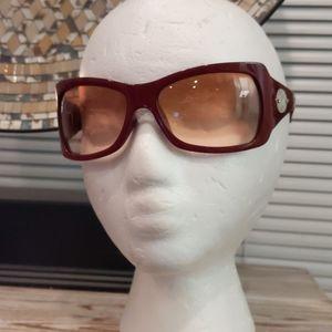Classic Dior 1 Optyl Burgundy Sunglasses